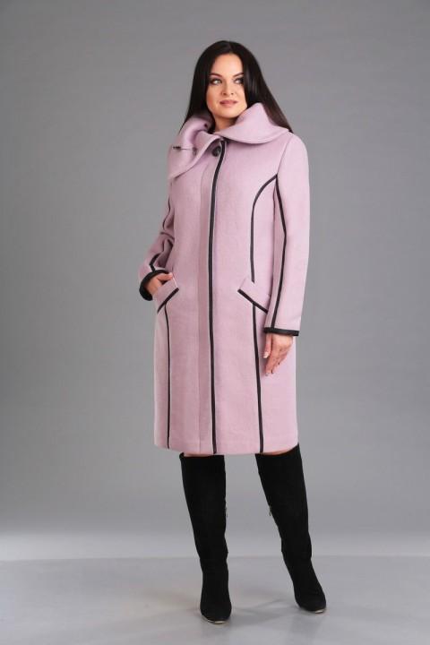 Пальто Foxy Fox 37 грязно-розовый