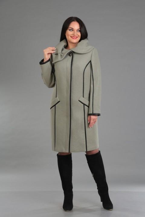 Пальто Foxy Fox 37 оливковый