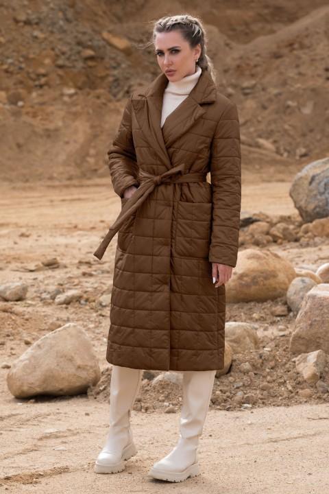 Пальто Golden Valley 7123 коричневый