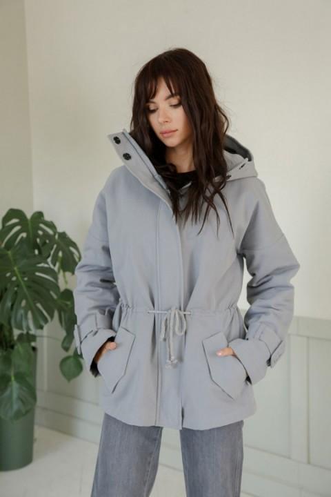 Куртка ЛадисЛайн 1371 стальной
