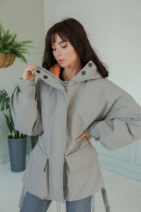 Куртка ЛадисЛайн 1373 стальной