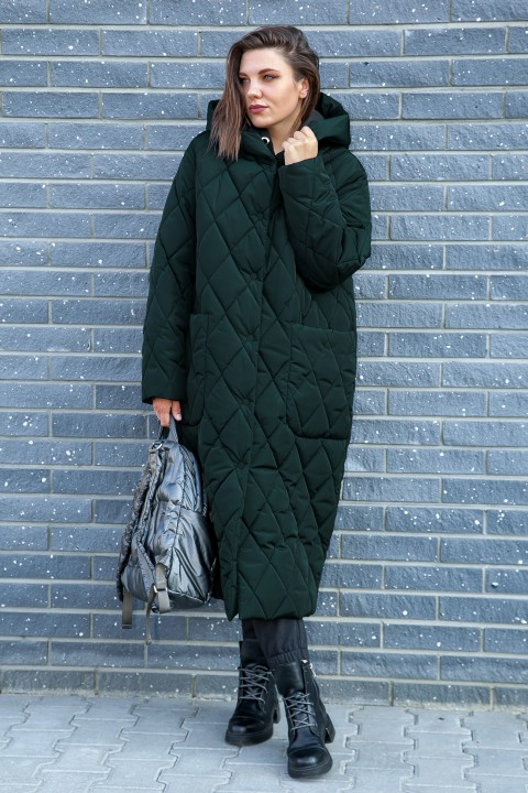 Пальто LadySecret 5006 зеленый перламутр
