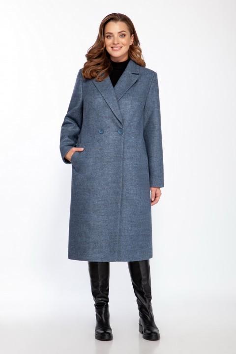 Пальто LaKona 1341 голубой