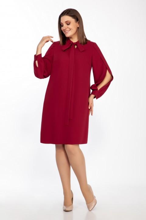 Платье LaKona 1399 винный