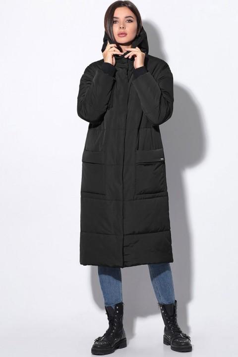 Пальто LeNata 11045 черный