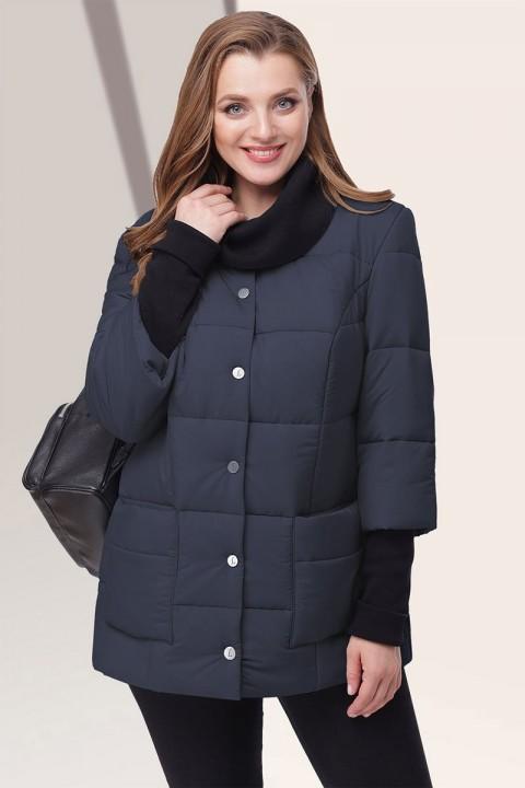 Куртка LeNata 12044 темно-синий