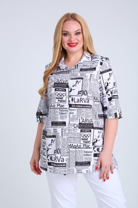 Блузка MammaModa М-20 газета