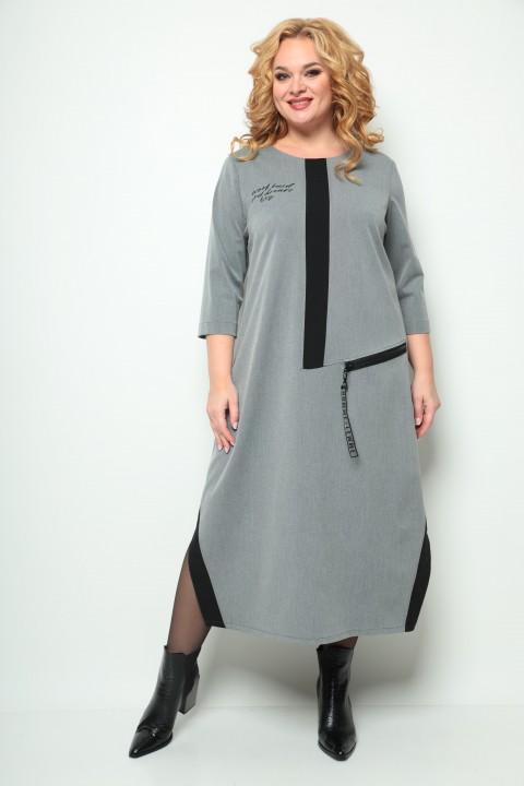 Платье Мишель Шик 2073 серый
