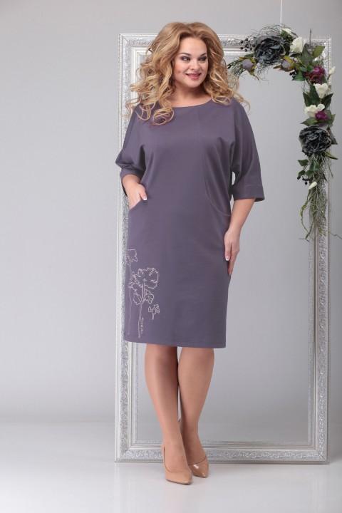 Платье Мишель Шик 954 светло-фиолетовый