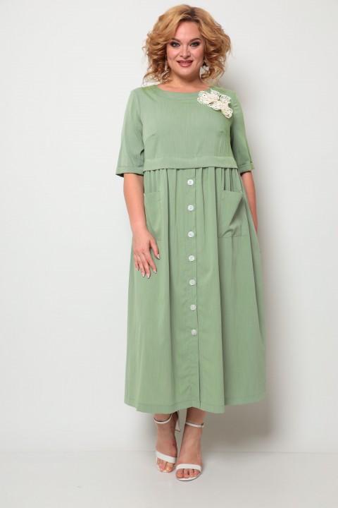 Платье Мишель Шик 2062 оливка