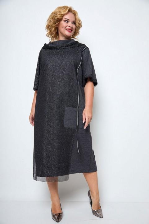 Платье Мишель Шик 2064 серый