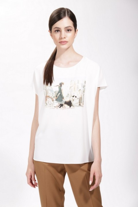 Блузка NIKA 3292 белый