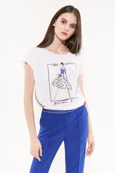 Блузка NIKA 4988 белый