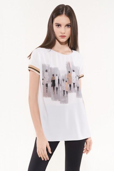 Блузка NIKA 5521 белый