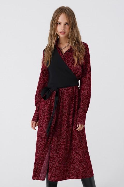 Платье Pirs 3406 красный