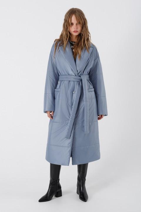 Пальто Pirs 3425 голубой