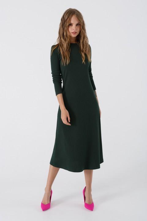 Платье Pirs 3439 изумрудный