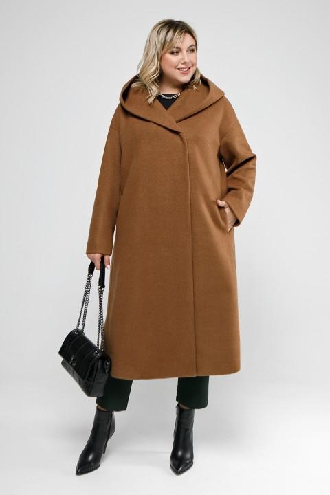 Пальто Pretty 2047 кэмел