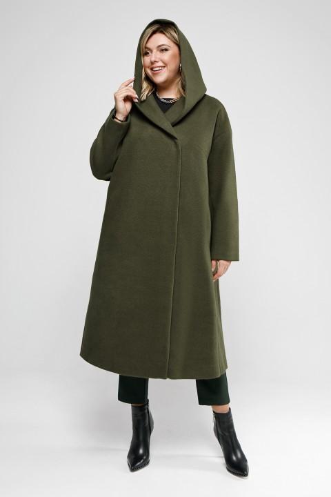 Пальто Pretty 2047 хаки