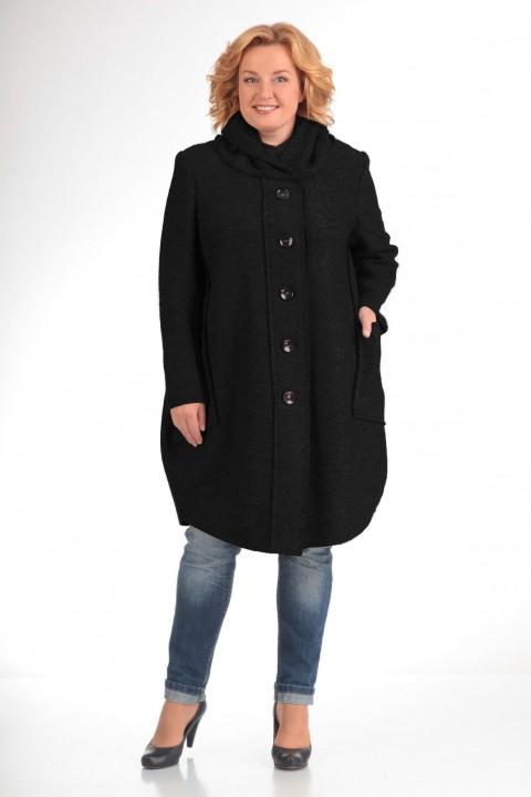 Пальто Pretty 485 черный