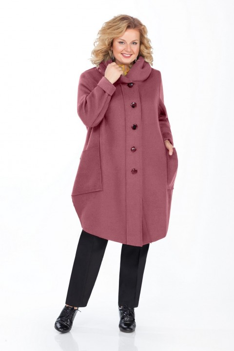 Пальто Pretty 485 розовый