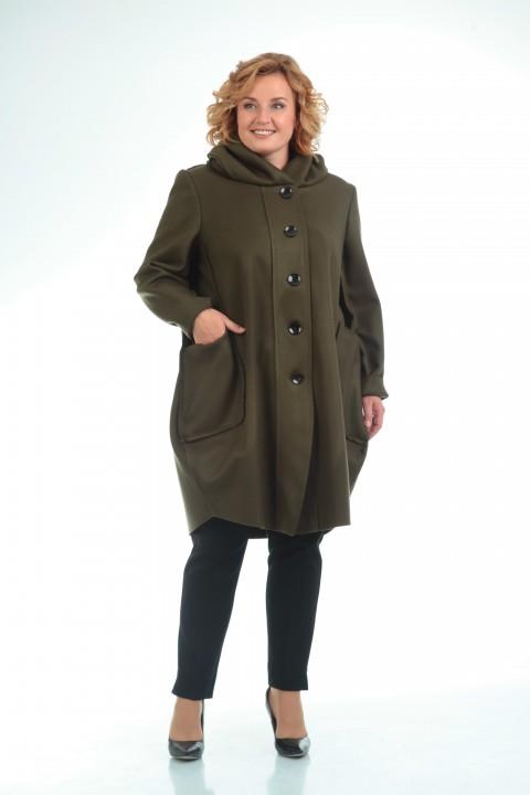 Пальто Pretty 485 зеленый