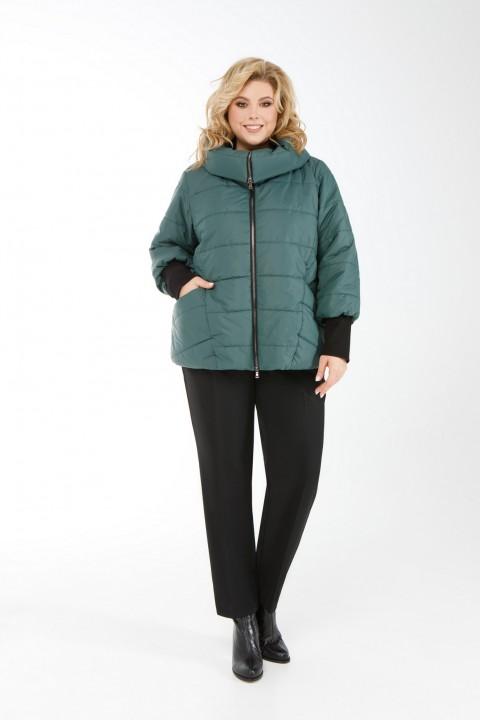 Куртка Pretty 954 изумруд