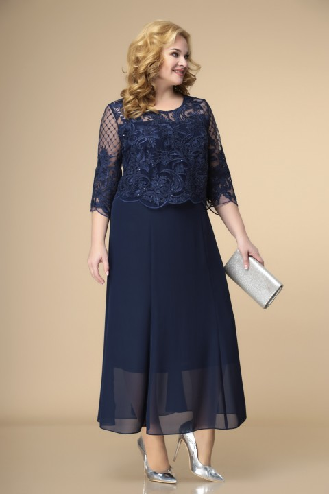 Платье Romanovich Style 1-1789 синие тона 2