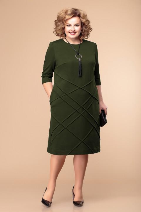 Платье Romanovich Style 1-1933 хаки
