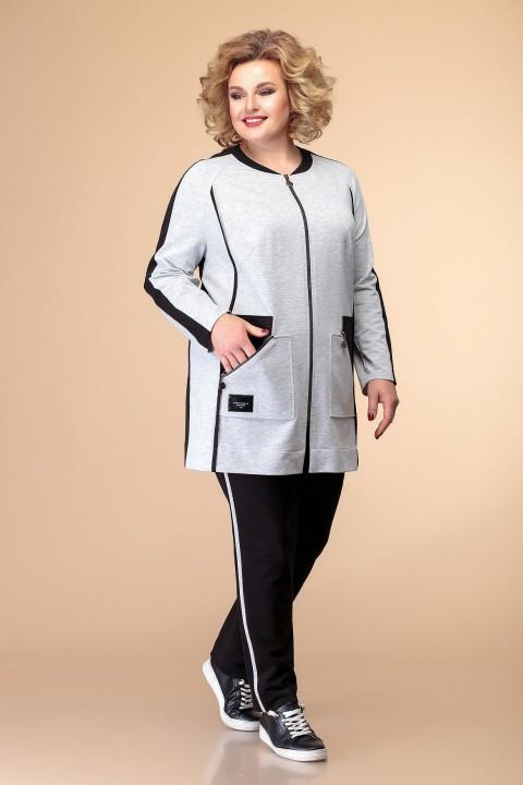 Костюм Romanovich Style 2-2010 серый/черный
