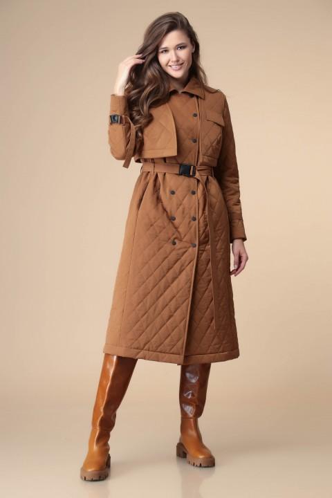 Плащ Romanovich Style 9-2209 коричневый