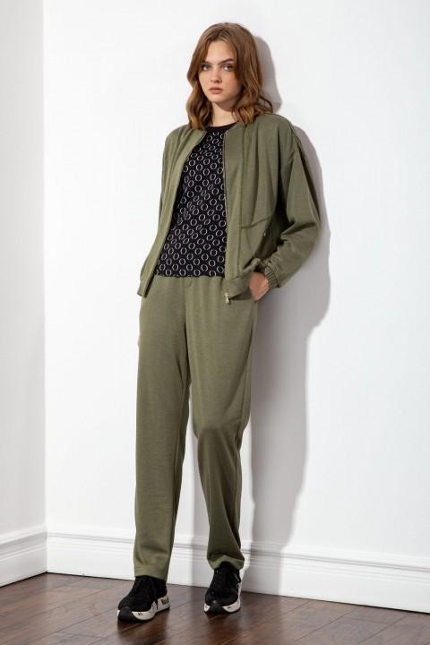Куртка S_ette S1020 оливковый