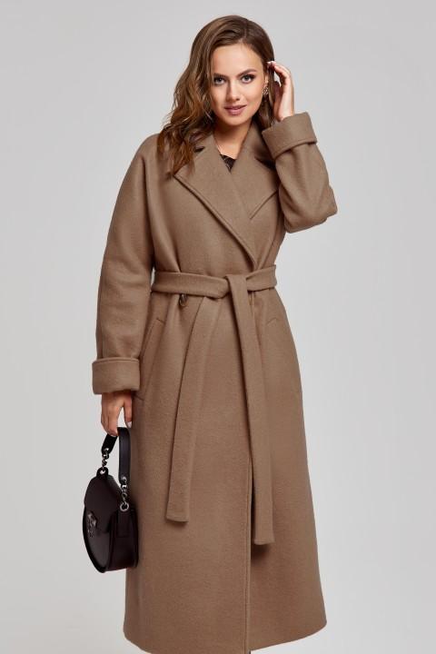 Пальто SandyNa 130604 :орехово-шоколадный