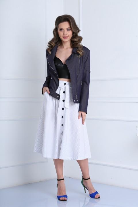 Куртка SandyNa 13958 деним