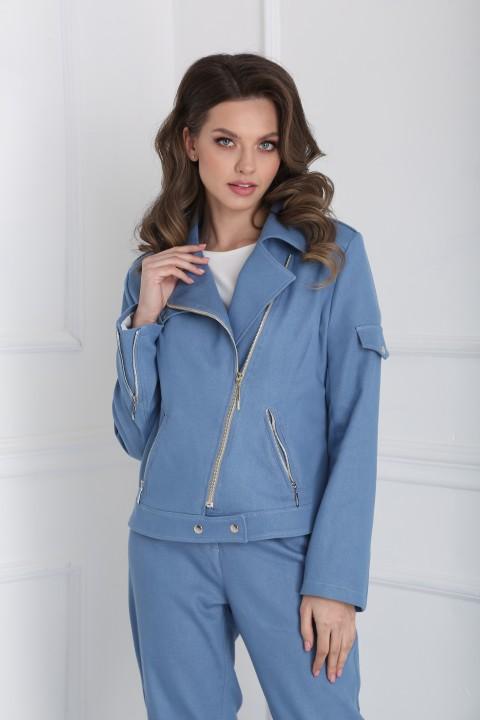 Куртка SandyNa 13958 васильковый