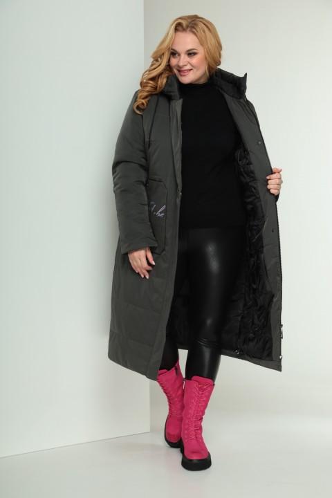 Пальто Shetti 2028 хаки
