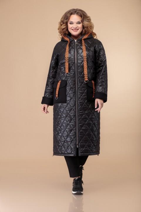 Пальто Светлана-Стиль 1460 черный