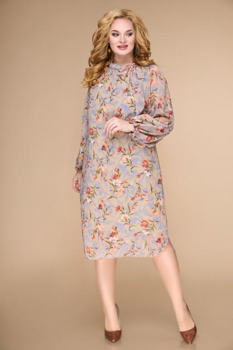 Платье Светлана-Стиль 1706 бежевый
