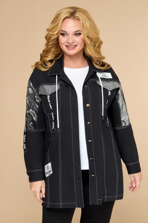 Куртка Светлана-Стиль 1803 черный
