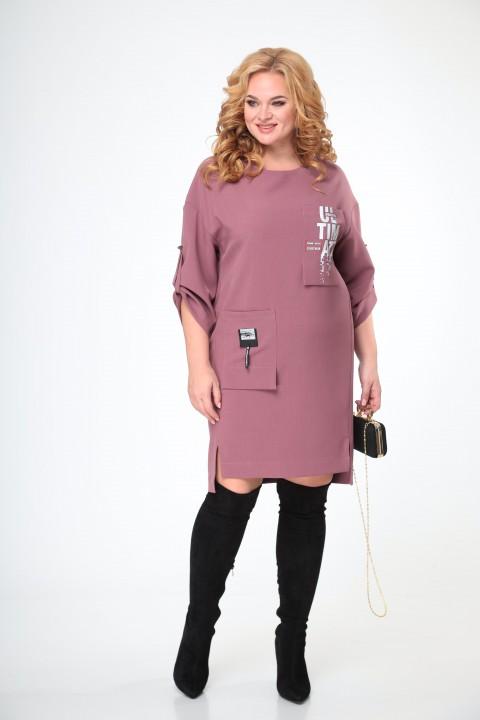 Платье TAITA PLUS 2133/7 сирень