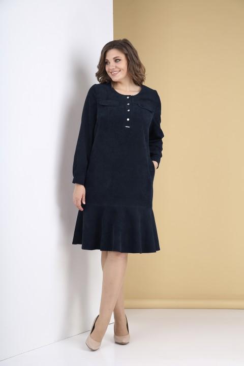 Платье Тэнси 319 темно-синий