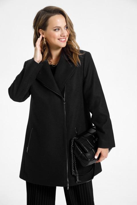 Пальто TEZA 1565 черный