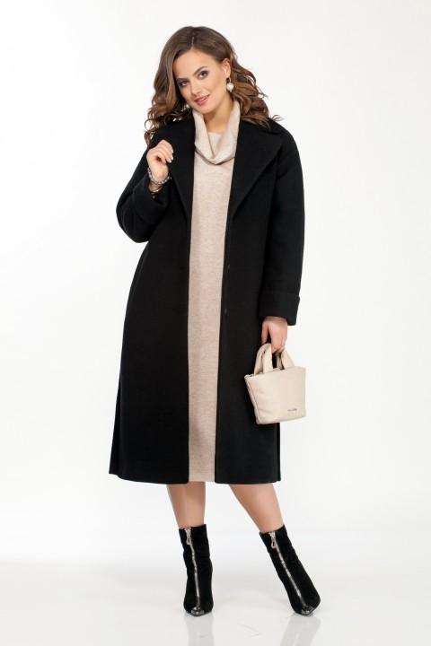 Пальто TEZA 246 черный