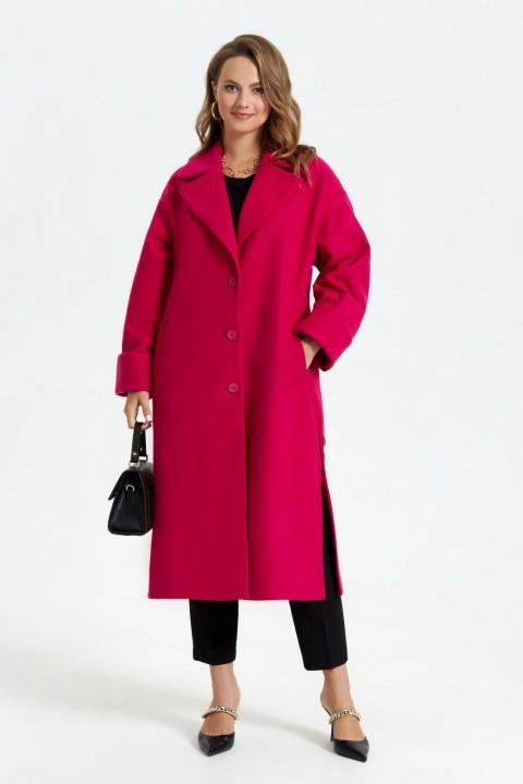 Пальто TEZA 246 фуксия