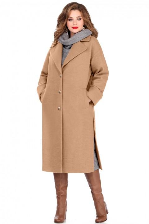 Пальто TEZA 246 кэмел