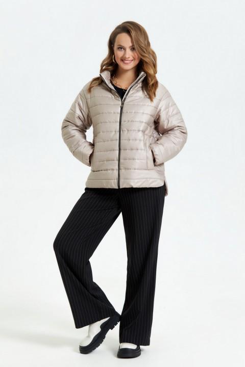 Куртка TEZA 2691 бежевый