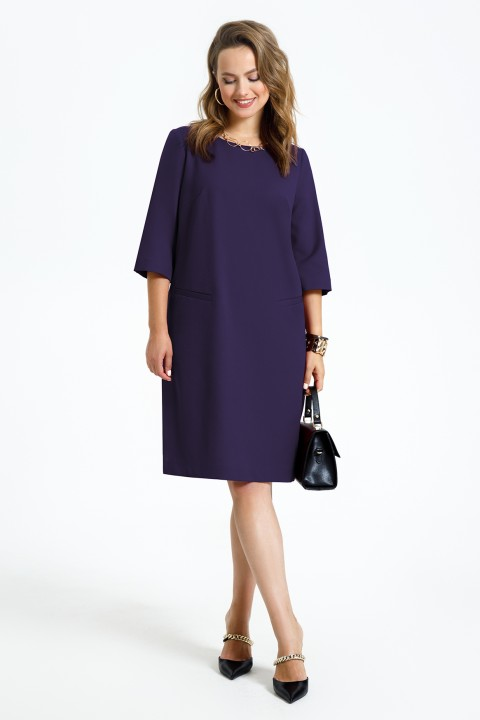 Платье TEZA 2946 фиолетовый