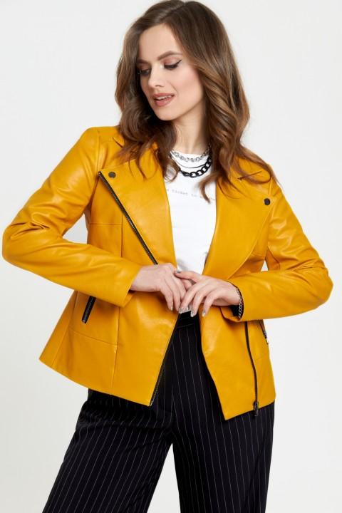 Куртка TEZA 948 горчица