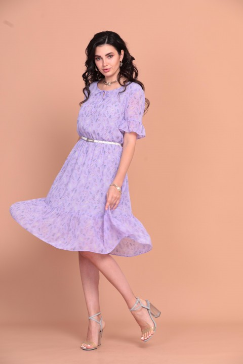 Платье Твой Имидж 1254 фиолетовый