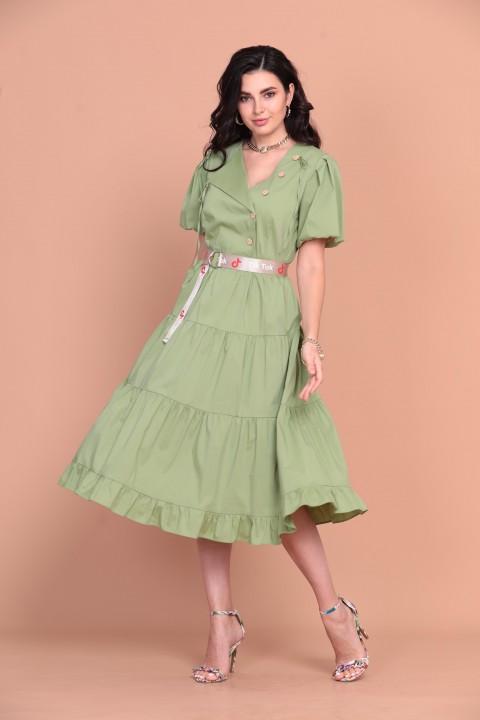 Платье Твой Имидж 1379 лемонграсс